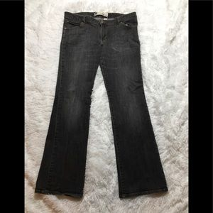 Women's Gap Curvy Low Rise Gray Jeans Size 14